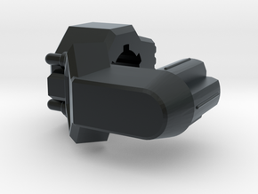 TR Galvatron Cannon Adaptor in Black Hi-Def Acrylate
