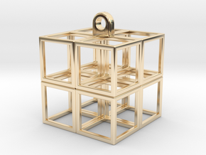 CubeCube in 14K Yellow Gold