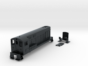 N-Scale FM H-12-44 in Black Hi-Def Acrylate