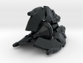Droid Tri-fighter 1/270 in Black Hi-Def Acrylate