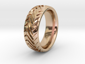 Ripper 1  in 14k Rose Gold Plated: 9 / 59