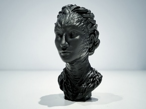 Child of forest 60 mm. in Black Hi-Def Acrylate: Extra Small