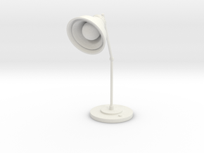 Lamp in White Natural Versatile Plastic: Large