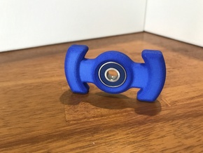 Hand Spinner MK1 in Blue Processed Versatile Plastic