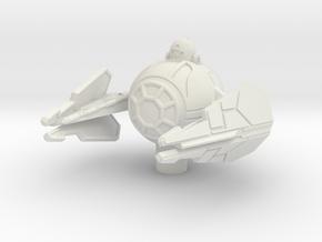 Yoda's Eta-2 Jedi Interceptor 1/140 in White Strong & Flexible
