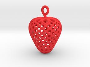 Strawberry 1611261305 in Red Processed Versatile Plastic