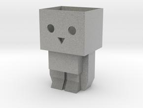 Tofubot pen stand / mini planter in Metallic Plastic