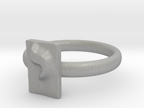 10 Yod Ring in Aluminum: 7 / 54