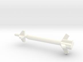 1/72 Scale GBU-28 and GBU-37 GPS Bunker Buster Bom in White Processed Versatile Plastic