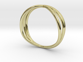 Nouv II (Medium) in 18k Gold