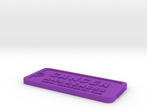 Tag-2-vc in Purple Processed Versatile Plastic