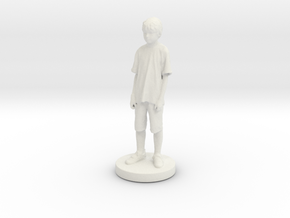 Printle C Kid 016 - 1/24 in White Strong & Flexible