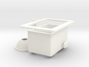 Seaking Aft Light Port  in White Processed Versatile Plastic