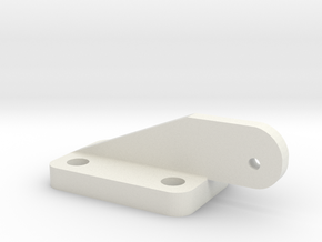 Bell 407 Replacement Hinge in White Natural Versatile Plastic