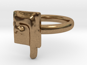 26 Pe-sofit Ring in Natural Brass: 7 / 54
