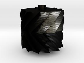 Laufabrauðshjól in Matte Black Steel