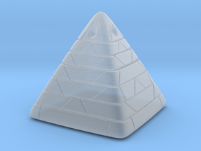 Pyramide Enlighted in Smooth Fine Detail Plastic