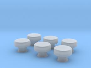 1/48 IJN Mushroom Type Ventilator V2 in Smooth Fine Detail Plastic