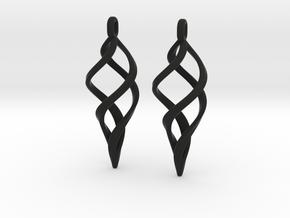 Kaladesh Earrings set in Black Natural Versatile Plastic