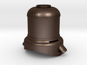 Mogul - Sand Dome .625 Plus 1% in Matte Bronze Steel