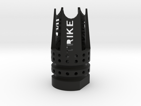 Trike Airsoft Flash-Hider (14mm-) in Black Strong & Flexible