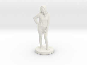 Printle C Femme 008 - 1/24 in White Strong & Flexible