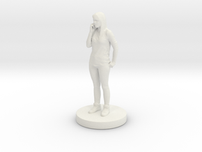 Printle C Femme 052 - 1/24 in White Strong & Flexible