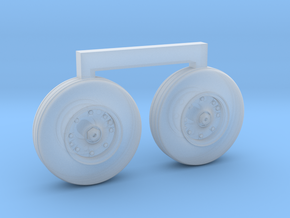 4801 - 1/48 S-3B Viking corrected ft wheels for AM in Frosted Extreme Detail