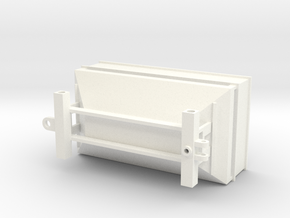 Center Dump Gravity Wagon 475 in White Processed Versatile Plastic