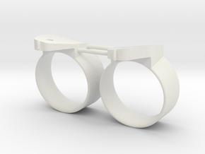 STANTUG 2208 nozzle (2pcs) in White Natural Versatile Plastic