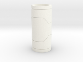 Mhs Hilt Sleeve Version 1 Mk1 in White Processed Versatile Plastic