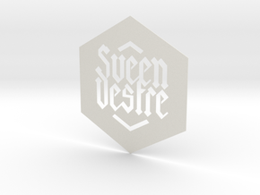 Sveen Vestre Big Cut in White Natural Versatile Plastic