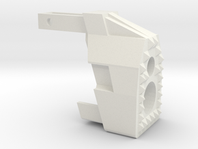 "MP7  ""Warthog"" frontend in White Natural Versatile Plastic"