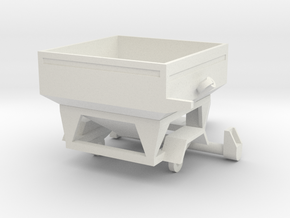 Weigh Wagon in White Natural Versatile Plastic