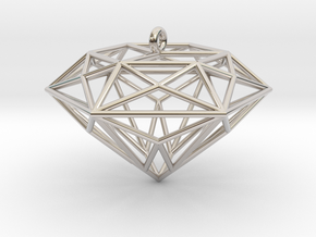 Diamond Ornament in Platinum