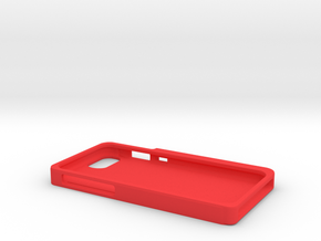 iPhone 7 case with headphone connector holder in Red Processed Versatile Plastic