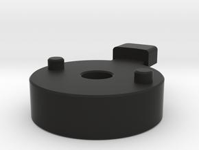 SX-64 Handle Lock Dummy in Black Natural Versatile Plastic