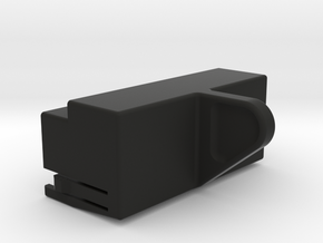 SX-64 Keyboard Connector Dust Cover in Black Natural Versatile Plastic