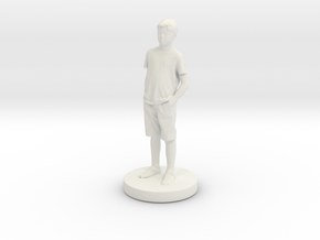 Printle C Kid 025 - 1/24 in White Natural Versatile Plastic