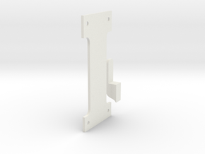 Apollo RCU-Static Hook in White Natural Versatile Plastic
