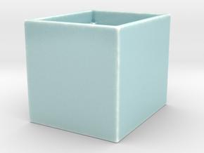 FCS2 Coverslip Wash Chamber in Gloss Celadon Green Porcelain