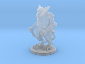 Elite Rat Warrior in Smooth Fine Detail Plastic