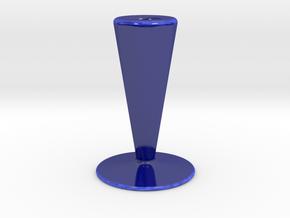 Candle Holder HH in Gloss Cobalt Blue Porcelain