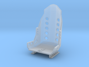 Racing Seat W Rails 1/25 in Smooth Fine Detail Plastic