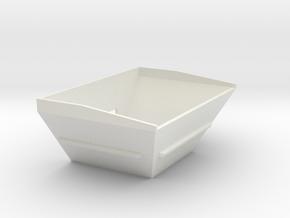 Z 034 Vogele Kontainer für WSI 1:50 in White Natural Versatile Plastic: 1:50