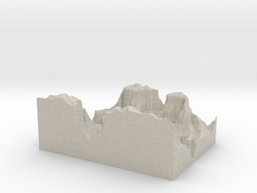 Model of Colorado River in Natural Sandstone