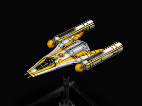 R5 Clone Wars Y-wing Variant in Frosted Extreme Detail