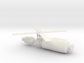 1/144 Scale Skylab in White Strong & Flexible