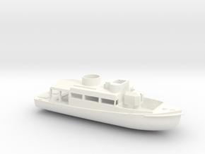 1/144 Scale Patrol Boat in White Processed Versatile Plastic
