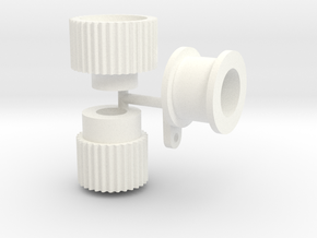 Blower Pulleys Only 1/12 in White Processed Versatile Plastic